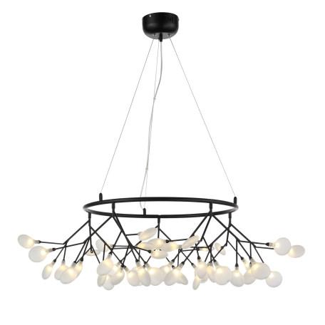 Подвесная люстра ST Luce Riccardo SL411.453.45, 45xG4x1,5W, черный, белый, металл, стекло