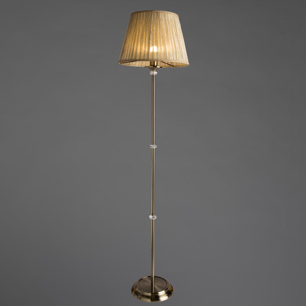 Arte Lamp Sylvia A1180PN-1AB, 1xE27x60W, бежевый - фото 2