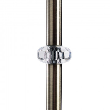 Arte Lamp Sylvia A1180PN-1AB, 1xE27x60W, бежевый - миниатюра 4