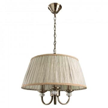 Arte Lamp Sylvia A1180SP-3AB, 3xE14x40W, бежевый