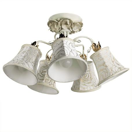 Arte Lamp Bellis A2819PL-5WG, 5xE14x60W, белый