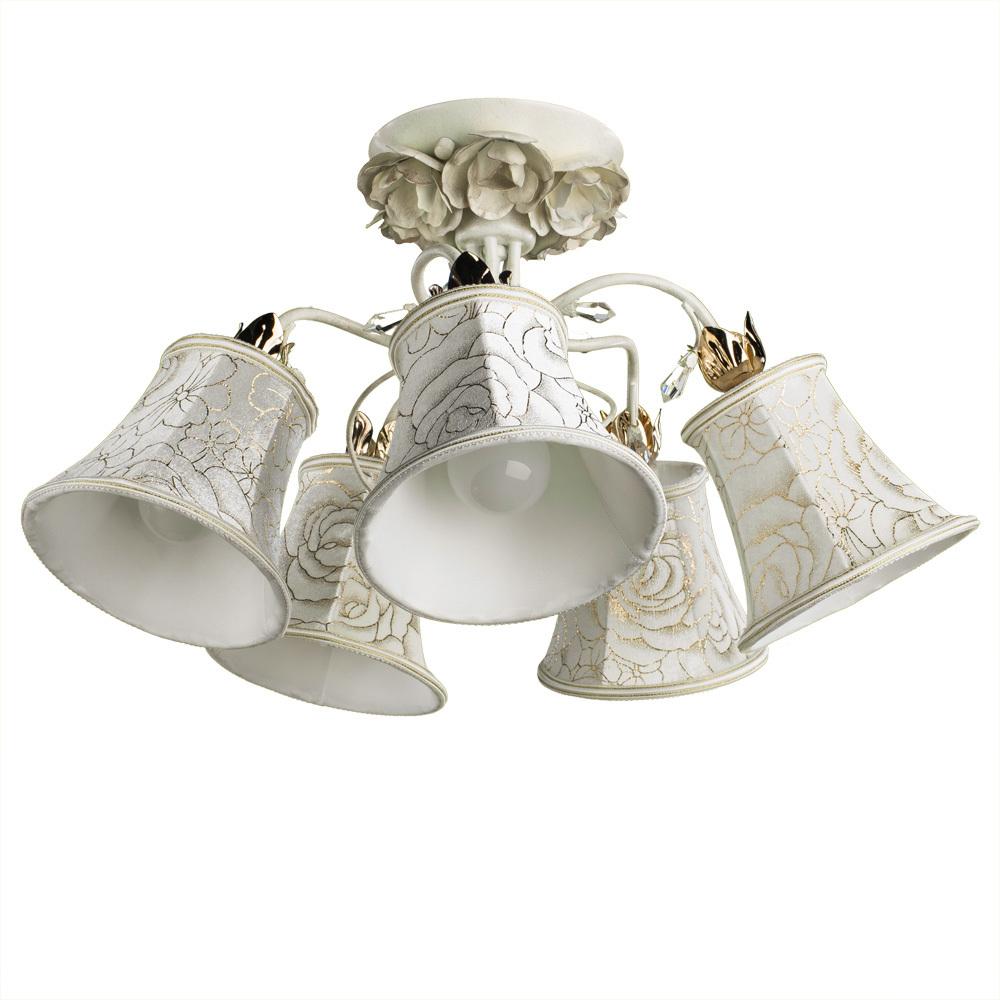 Arte Lamp Bellis A2819PL-5WG, 5xE14x60W, белый - фото 1