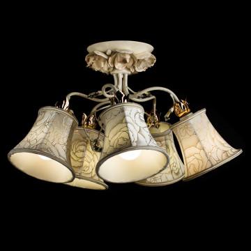 Arte Lamp Bellis A2819PL-5WG, 5xE14x60W, белый - миниатюра 2