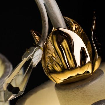 Arte Lamp Bellis A2819PL-5WG, 5xE14x60W, белый - миниатюра 3
