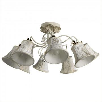 Arte Lamp Bellis A2819PL-8WG, 8xE14x60W, белый