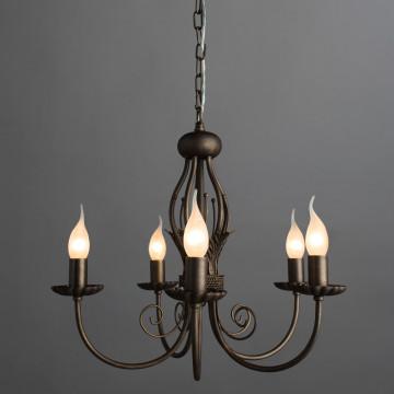 Arte Lamp Dolce A3057LM-5BR, 5xE14x60W - миниатюра 2
