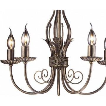 Arte Lamp Dolce A3057LM-5BR, 5xE14x60W - миниатюра 4
