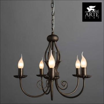 Arte Lamp Dolce A3057LM-5BR, 5xE14x60W - миниатюра 5