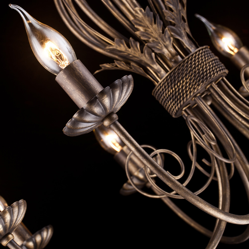 Arte Lamp Dolce A3057LM-8BR, 8xE14x60W - фото 2
