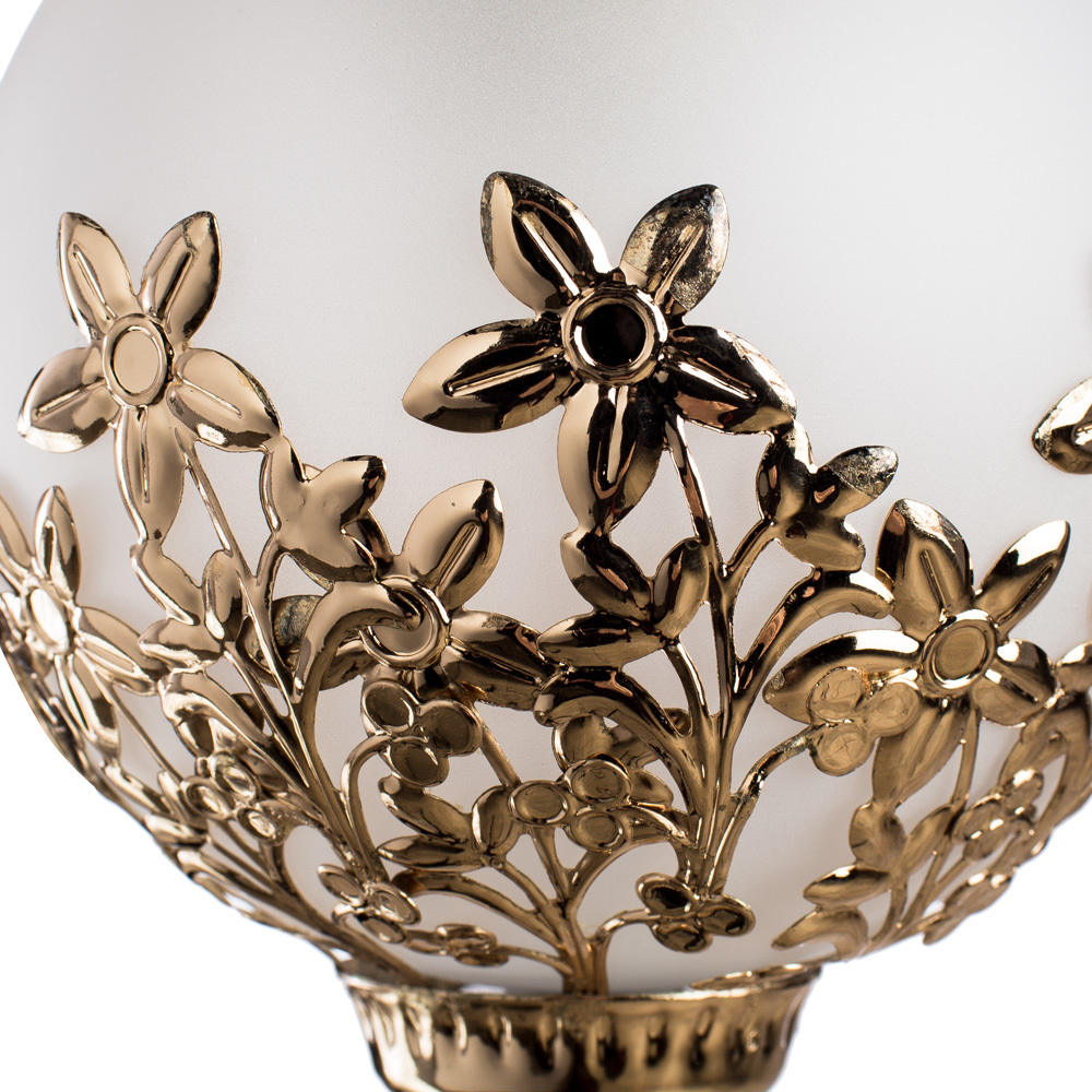Бра Arte Lamp Moroccana A4552AP-1GO, 1xE27x60W, золото, металл, стекло - фото 3
