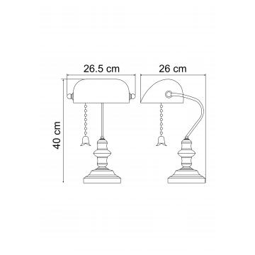 Схема с размерами Arte Lamp A2493LT-1AB