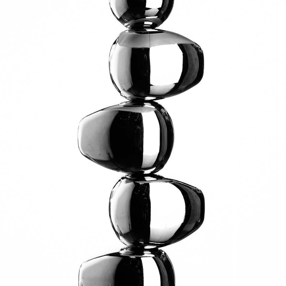 Настольная лампа Arte Lamp Marriot A4610LT-1CC, 1xE27x60W, хром, белый, металл, текстиль - фото 3
