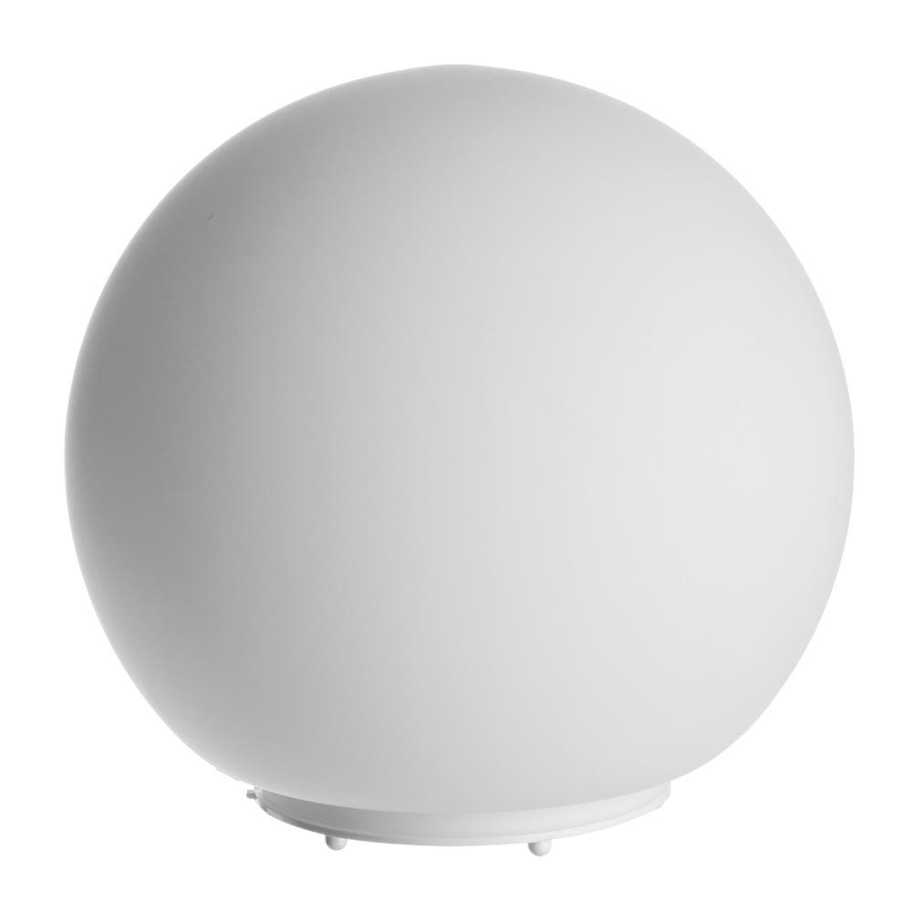 Настольная лампа Arte Lamp Sphere A6020LT-1WH, 1xE27x60W, белый, пластик, стекло - фото 1