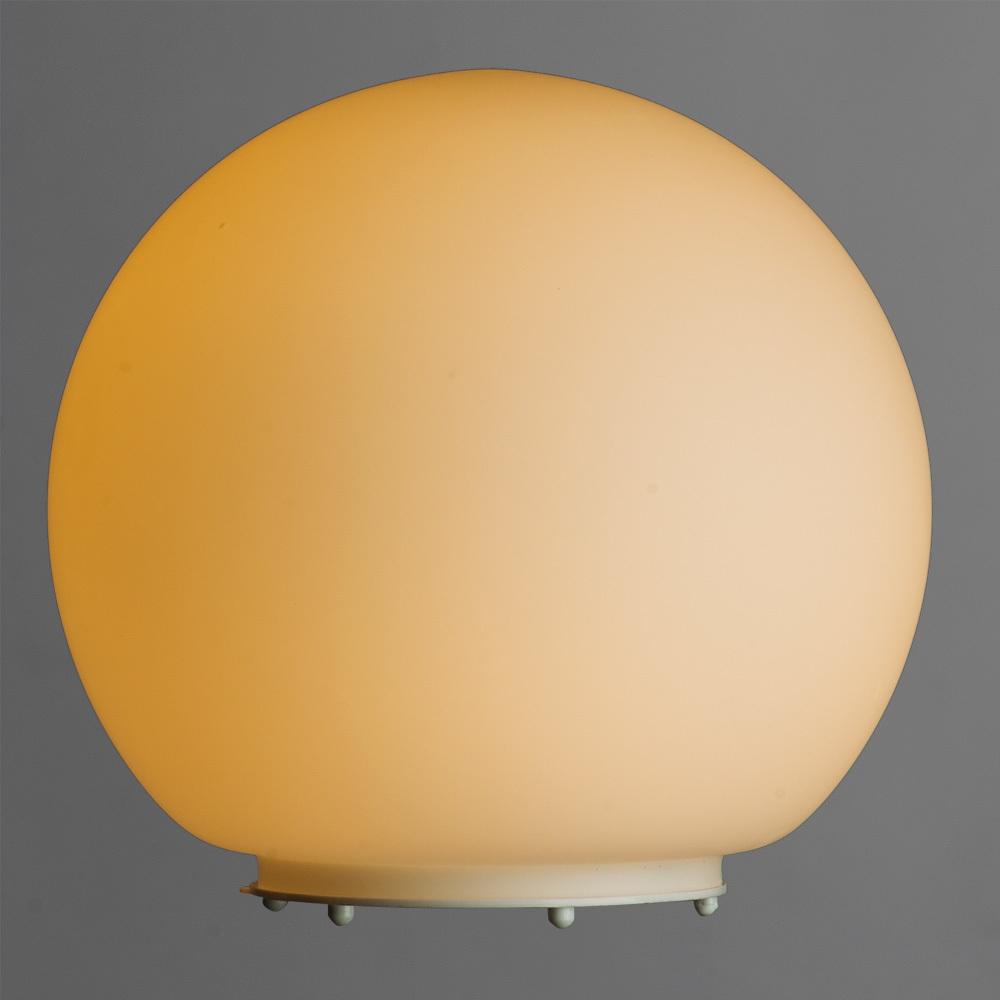 Настольная лампа Arte Lamp Sphere A6020LT-1WH, 1xE27x60W, белый, пластик, стекло - фото 2