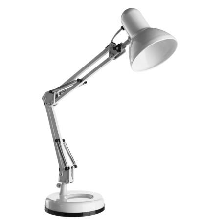 Настольная лампа Arte Lamp Junior A1330LT-1WH, 1xE27x40W, белый, хром, металл