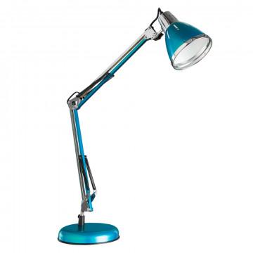 Настольная лампа Arte Lamp Creazione A2245LT-1BL, 1xE27x40W, синий, хром, металл