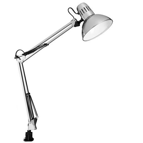Настольная лампа Arte Lamp Senior A6068LT-1SS, 1xE27x40W, серебро, металл - миниатюра 1