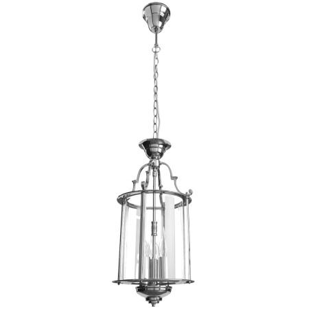 Подвесная люстра Arte Lamp Rimini A6503SP-3CC, 3xE14x60W, хром, прозрачный, металл, металл со стеклом