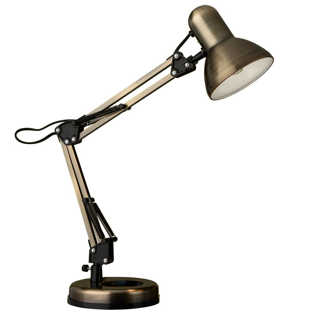 Настольная лампа Arte Lamp Junior A1330LT-1AB, 1xE27x40W, бронза, черный, металл - фото 1