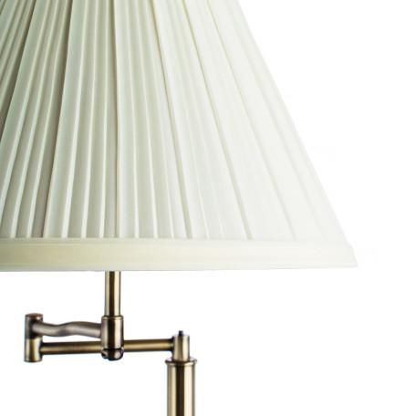 Торшер Arte Lamp California A2872PN-1AB, 1xE27x100W, бронза, бежевый, металл, текстиль - миниатюра 3