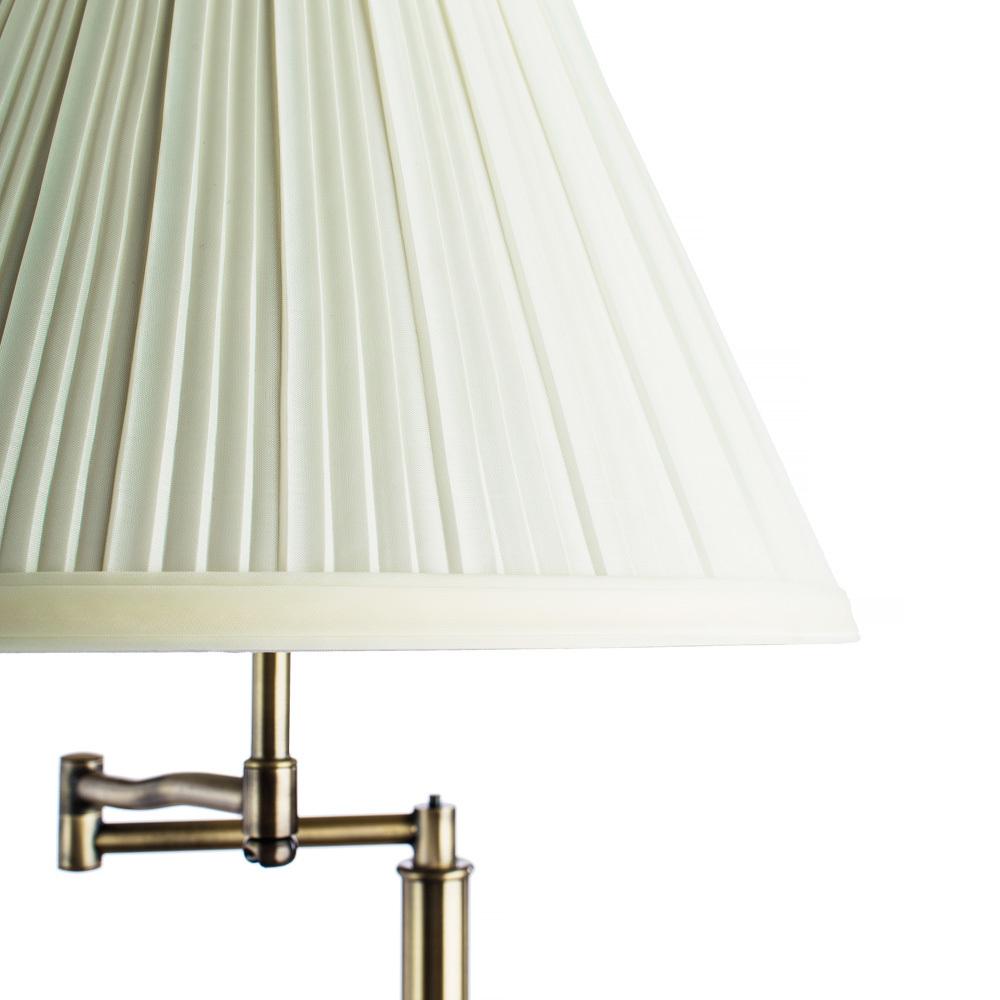 Торшер Arte Lamp California A2872PN-1AB, 1xE27x100W, бронза, бежевый, металл, текстиль - фото 3