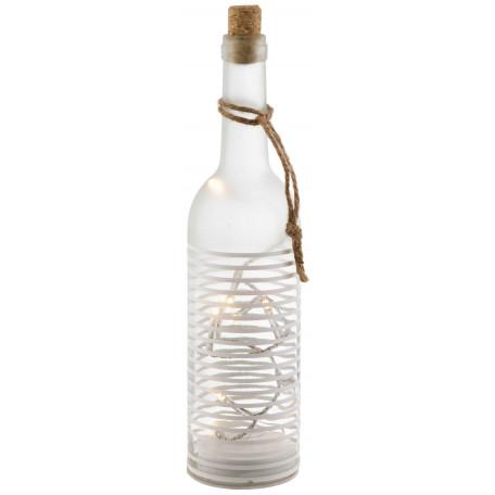 Настольная светодиодная лампа Globo Craig 28184-12-2, LED 0,06W, белый, пластик, стекло