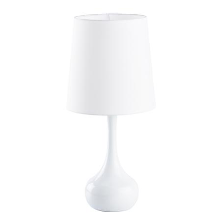 Настольная лампа MW-Light Салон 415033701, 1xE27x60W, белый, металл, текстиль