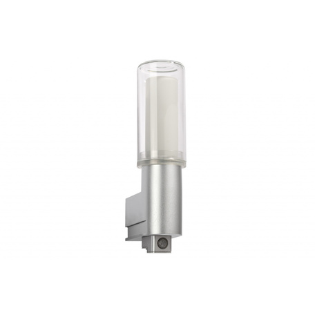 Настенный светильник Paulmann Basic 70105, IP44, 1xE27x11W, пластик, стекло