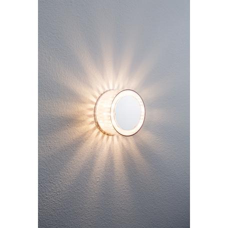 Настенный светодиодный светильник Paulmann DecoBeam 70291, LED 2,5W, хром, металл с пластиком