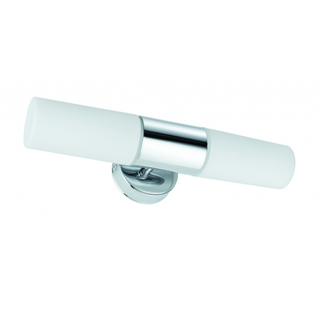 Настенный светильник Paulmann Lenia 70350, IP44, 2xE14x20W, металл, стекло