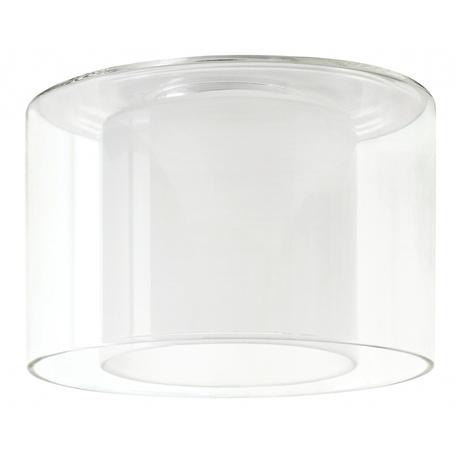 Плафон Paulmann Twice 70174, белый, прозрачный, стекло