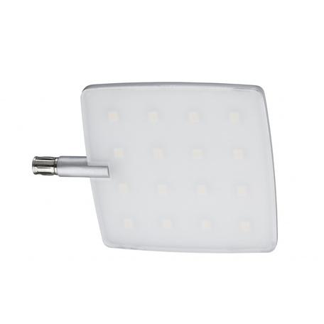 Светодиодный светильник с регулировкой направления света для крепления на основание Paulmann Pad 70220, LED 5W, алюминий, пластик