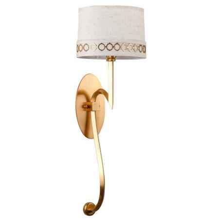 Бра L'Arte Luce Luxury Allegretto L02621, 1xE14x40W, металл, текстиль