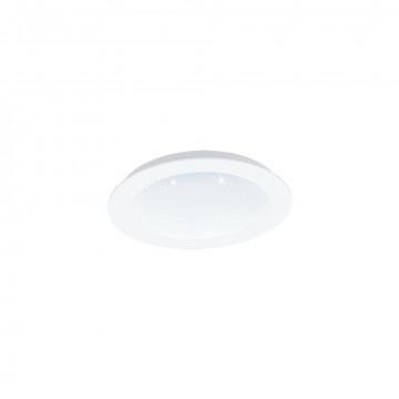 Светодиодная панель Eglo Fiobbo 97593, LED 14W 3000K 1700lm, белый, металл с пластиком, пластик