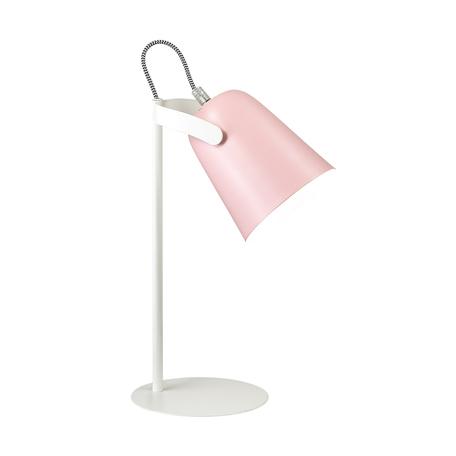 Настольная лампа Lumion Desk Kenny 3652/1T, 1xE14x4W, белый, розовый, металл