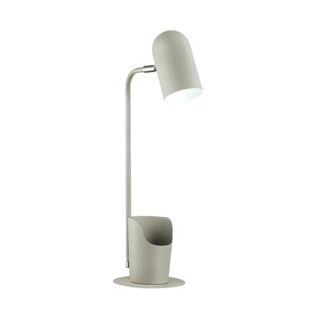 Настольная лампа Lumion Desk Ejen 3688/1T, 1xE27x40W, серый, металл