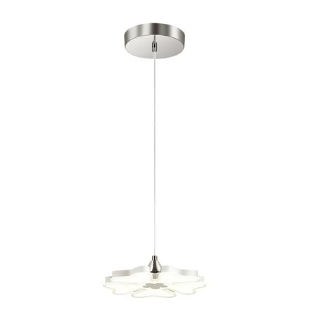 Подвесной светодиодный светильник Lumion Leila 3644/26L 4000K (дневной), хром, белый, металл, пластик