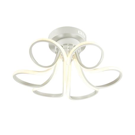 Потолочная светодиодная люстра Lumion LEDio Oscar 3642/72CL, LED 72W 3000K, белый, металл, металл с пластиком, пластик