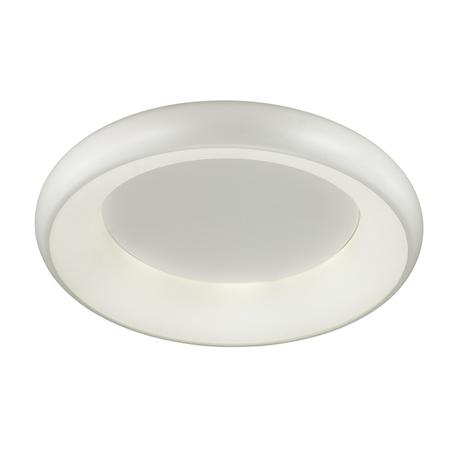 Потолочный светодиодный светильник Odeon Light Rondo 4063/40CL 4000K (дневной), серый, металл, пластик