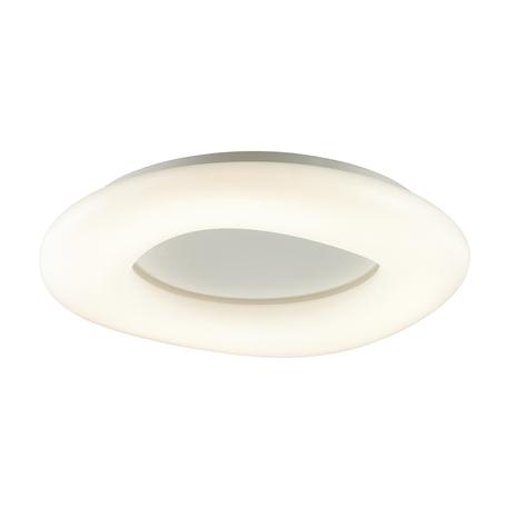 Потолочный светодиодный светильник Odeon Light L-Vision Aura 4064/108CL, LED 108W 4000K 8640lm, белый, металл, пластик