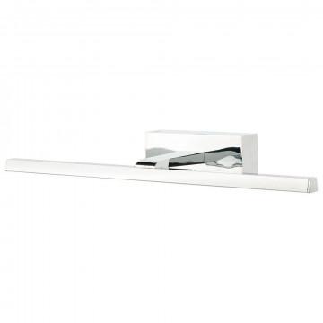 Настенный светодиодный светильник для подсветки зеркал Nowodvorski Van Gogh LED 9346, IP44, LED 8W, хром, металл, пластик