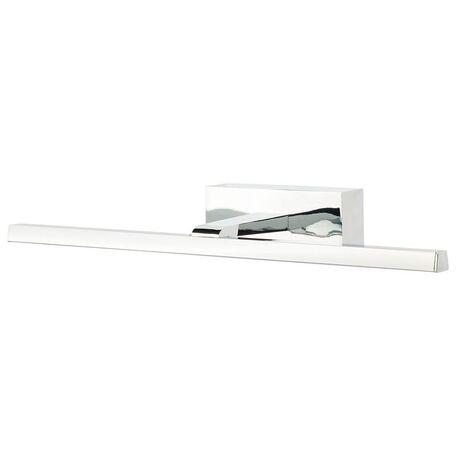 Настенный светодиодный светильник для подсветки зеркал Nowodvorski Van Gogh LED 9347, IP44, LED 12W, хром, металл, пластик