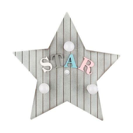 Настенный светильник Nowodvorski Toy-Star 9293, 3xE14x40W, разноцветный, дерево