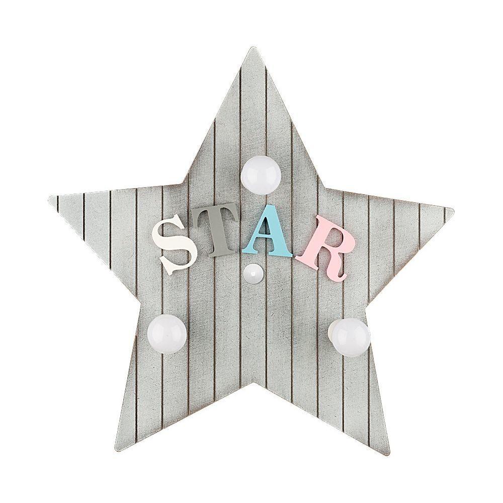 Настенный светильник Nowodvorski Toy-Star 9293, 3xE14x40W, разноцветный, дерево - фото 1