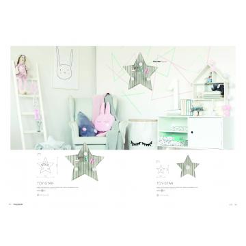 Настенный светильник Nowodvorski Toy-Star 9293, 3xE14x40W, разноцветный, дерево - миниатюра 2