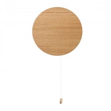 Настенный светильник Nowodvorski Minimal 9377, 1xG9x10W, коричневый, дерево