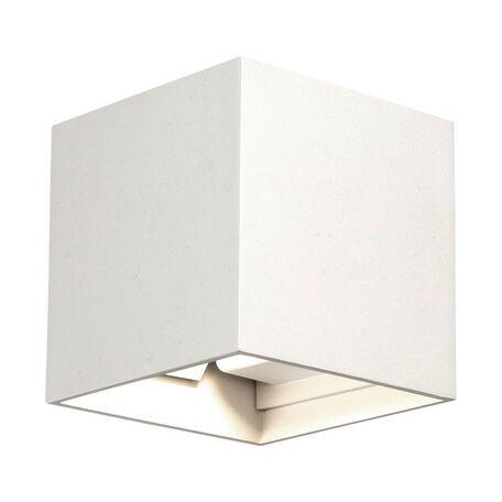 Настенный светодиодный светильник Nowodvorski Lima LED 9510, IP44, LED 3W 335lm, белый, металл