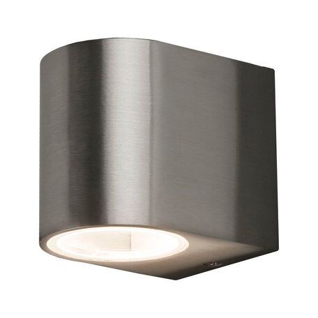 Настенный светильник Nowodvorski Arris 9516, IP44, 1xGU10x10W, сталь, металл, стекло