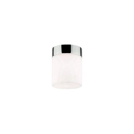 Потолочный светильник Nowodvorski Cayo 9505, IP44, 1xG9x40W, хром, белый, металл, стекло