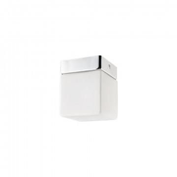 Потолочный светильник Nowodvorski Sis 9506, IP44, 1xG9x40W, хром, белый, металл, стекло